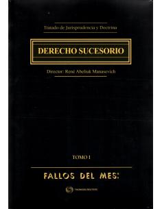 TRATADO DE JURISPRUDENCIA Y DOCTRINA - DERECHO SUCESORIO - 2 Tomos