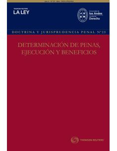 REVISTA DOCTRINA Y JURISPRUDENCIA PENAL N° 25 - DETERMINACIÓN DE PENAS, EJECUCIÓN Y BENEFICIOS