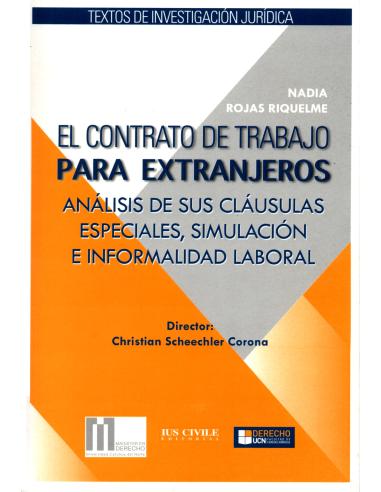 El Contrato De Trabajo Para Extranjeros Editorial Libromar