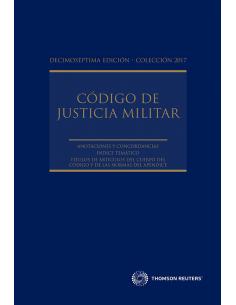 CÓDIGO DE JUSTICIA MILITAR 2017 (Rústico)