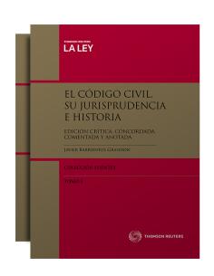 EL CÓDIGO CIVIL. SU JURISPRUDENCIA E HISTORIA