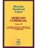 DERECHO COMERCIAL TOMO VII - Garantías Reales y Personales en el Derecho Mercantil Nacional y Comparado