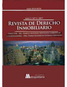 REVISTA DE DERECHO INMOBILIARIO N° 1 - 2017