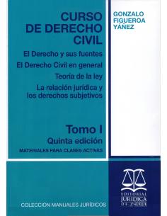 CURSO DE DERECHO CIVIL - TOMO I - El derecho y sus fuentes, el derecho civil en general, teoría de la ley...