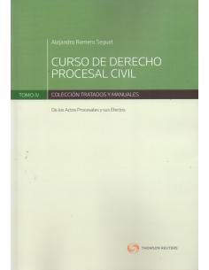 CURSO DE DERECHO PROCESAL CIVIL - TOMO IV