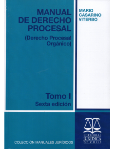 MANUAL DE DERECHO PROCESAL - TOMO I - Derecho Procesal Orgánico