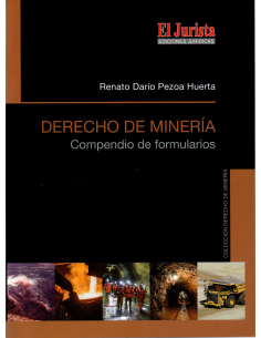 DERECHO DE MINERÍA - COMPENDIO DE FORMULARIOS