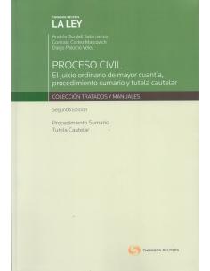 PROCESO CIVIL - EL JUICIO ORDINARIO DE MAYOR CUANTÍA, PROCEDIMIENTO SUMARIO Y TUTELA CAUTELAR