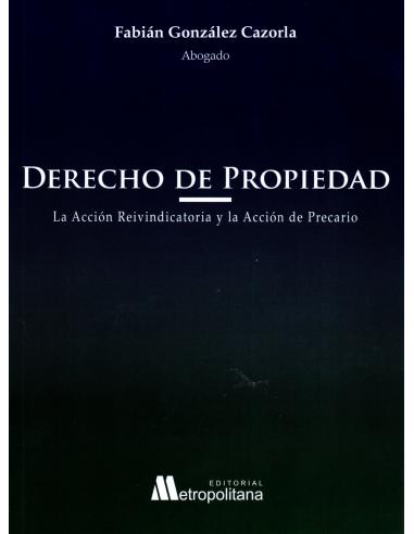 DERECHO DE PROPIEDAD - La Acción Reivindicatoria y La Acción de Precario