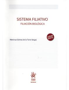 SISTEMA FILIATIVO - FILIACION BIOLÓGICA