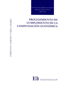 PROCEDIMIENTO DE CUMPLIMIENTO DE LA COMPENSACIÓN ECONÓMICA