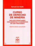CURSO DE DERECHO DE MINERIA