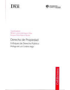 DERECHO DE PROPIEDAD - Enfoques de Derecho Público