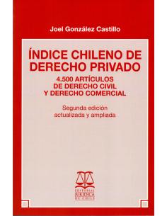 ÍNDICE CHILENO DE DERECHO PRIVADO