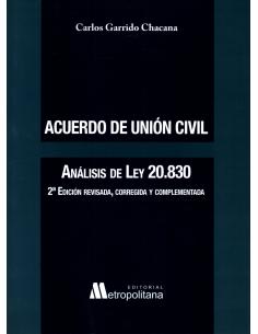 ACUERDO DE UNIÓN CIVIL - Análisis de Ley N° 20.830