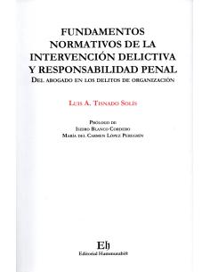FUNDAMENTOS NORMATIVOS DE LA INTERVENCIÓN DELICTIVA Y RESPONSABILIDAD PENAL