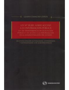 LEY N° 20.285, SOBRE ACCESO A LA INFORMACIÓN PÚBLICA