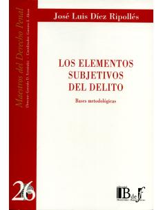 (26) LOS ELEMENTOS SUBJETIVOS DEL DELITO