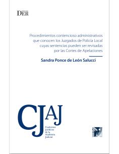 PROCEDIMIENTO CONTENCIOSO ADMINISTRATIVOS QUE CONOCEN LOS JUZGADOS DE POLICIA LOCAL