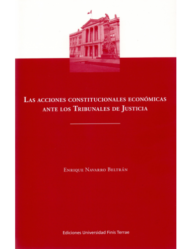 LAS ACCIONES CONSTITUCIONALES ECONÓMICAS ANTE LOS TRIBUNALES