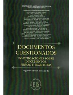 DOCUMENTOS CUESTIONADOS - Investigaciones Sobre Documentos, Firmas y Escrituras