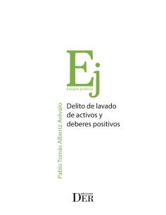 DELITO DE LAVADO DE ACTIVOS Y DEBERES POSITIVOS