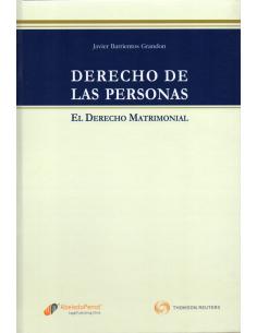 DERECHO DE LAS PERSONAS - EL DERECHO MATRIMONIAL