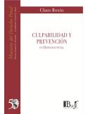 (53) CULPABILIDAD Y PREVENCIÓN EN DERECHO PENAL