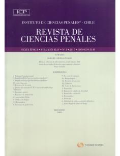REVISTA DE CIENCIAS PENALES - Volumen XLIV - N°1 - Año 2017