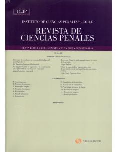 REVISTA DE CIENCIAS PENALES - Volumen XLV - N°3 - Año 2017