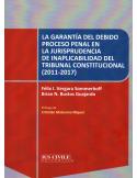LA GARANTÍA DEL DEBIDO PROCESO PENAL EN LA JURISPRUDENCIA DE INAPLICABILIDAD DEL TRIBUNAL CONSTITUCIONAL (2011-2017)