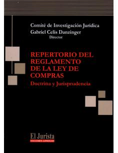 REPERTORIO DEL REGLAMENTO DE LA LEY DE COMPRAS - Doctrina y Jurisprudencia