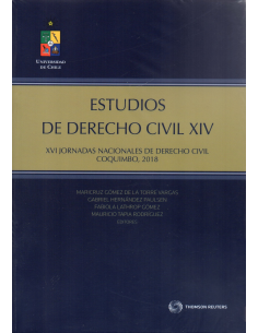 ESTUDIOS DE DERECHO CIVIL XIV -  Jornadas Nacionales de Derecho Civil, Coquimbo 2018