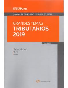 GRANDES TEMAS TRIBUTARIOS 2019 - VOL. II