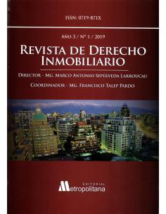 REVISTA DE DERECHO INMOBILIARIO - AÑO 3 - N° 1 - 2019