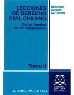 LECCIONES DE DERECHO CIVIL CHILENO - TOMO II - De las fuentes de las obligaciones