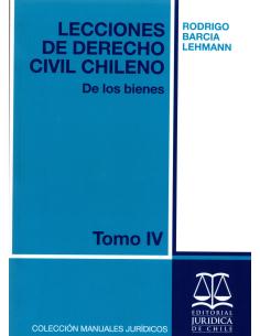 LECCIONES DE DERECHO CIVIL CHILENO - TOMO IV - De los bienes