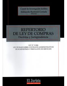 REPERTORIO DE LEY DE COMPRAS - Doctrina y Jurisprudencia