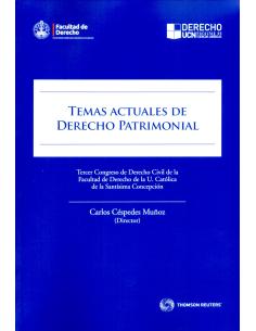 TEMAS ACTUALES DE DERECHO PATRIMONIAL