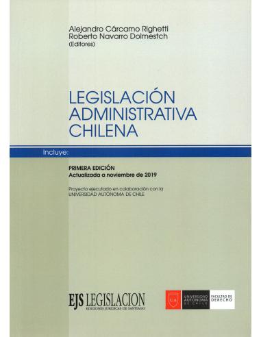 LEGISLACIÓN ADMINISTRATIVA CHILENA