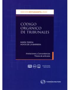 CÓDIGO ORGÁNICO DE TRIBUNALES - EDICIÓN ESTUDIANTE