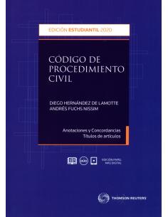 CÓDIGO DE PROCEDIMIENTO CIVIL - EDICIÓN ESTUDIANTE