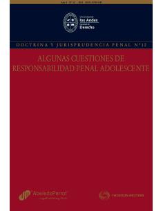 REVISTA DOCTRINA Y JURISPRUDENCIA PENAL  N°12 - ALGUNAS CUESTIONES DE RESPONSABILIDAD PENAL ADOLESCENTE