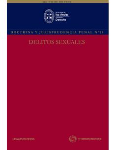 REVISTA DOCTRINA Y JURISPRUDENCIA PENAL N°15. DELITOS SEXUALES