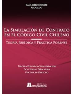 LA SIMULACIÓN DE CONTRATO EN EL CÓDIGO CIVIL CHILENO