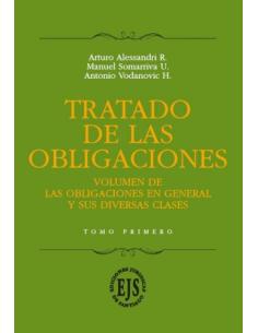 TRATADO DE LAS OBLIGACIONES - 3 Tomos