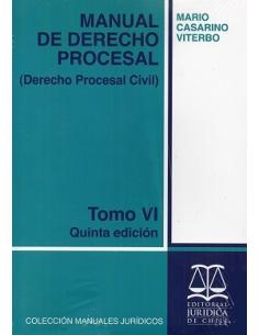 MANUAL DE DERECHO PROCESAL - TOMO VI - Derecho Procesal Civil