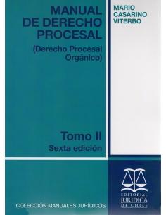 MANUAL DE DERECHO PROCESAL - TOMO II - Derecho Procesal Orgánico