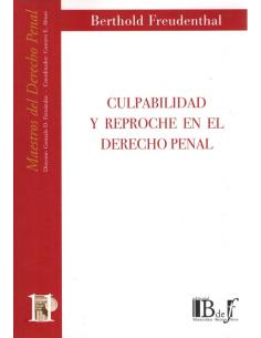 (11) CULPABILIDAD Y REPROCHE EN EL DERECHO PENAL