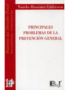 (14) PRINCIPALES PROBLEMAS DE LA PREVENCIÓN GENERAL